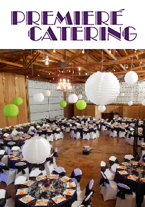 Reception & Wedding Sites from Premiere Catering