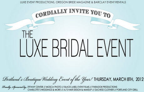 Oregon Wedding Shows Luxe Bridal Event
