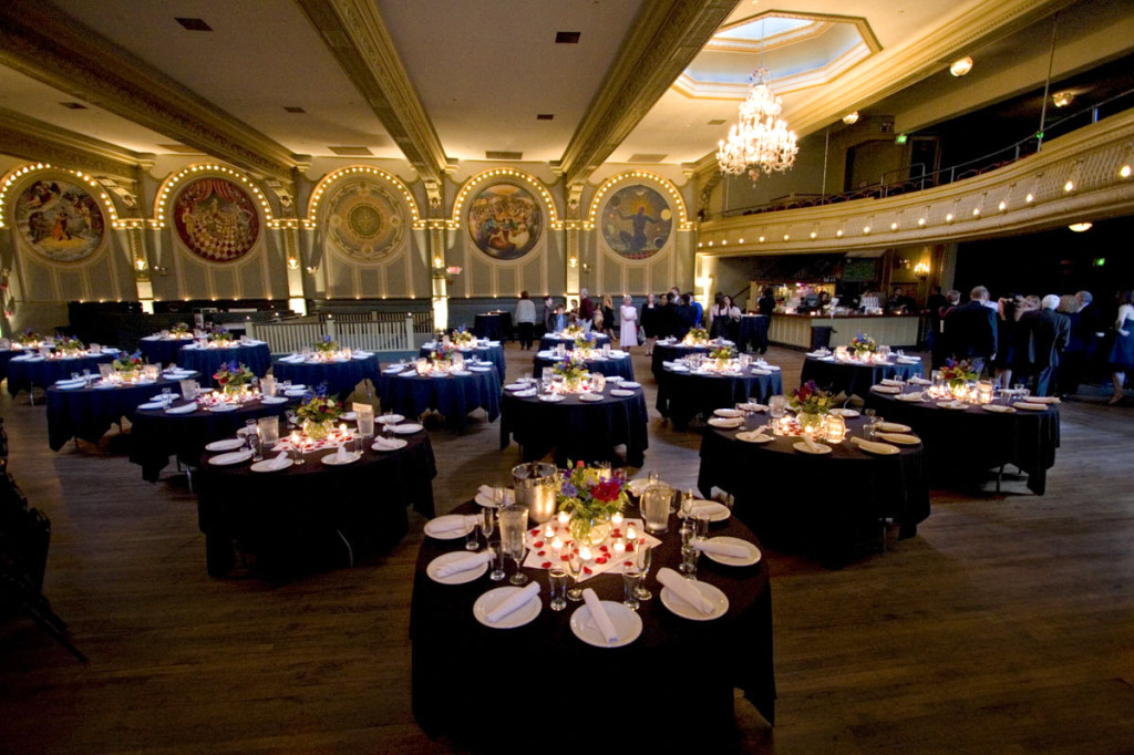 Oregon Wedding Venues McMenamins Crystal Hotel & Ballroom