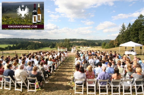Oregon Wedding Venues King's Raven Winery