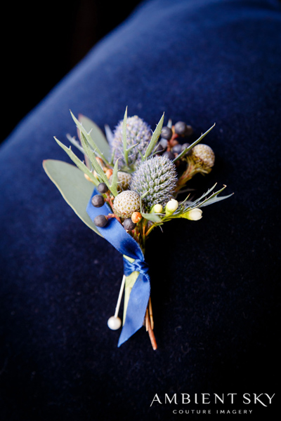 boutonniere_blue_sea_holly_botanica_floral_design_world_forestry_center