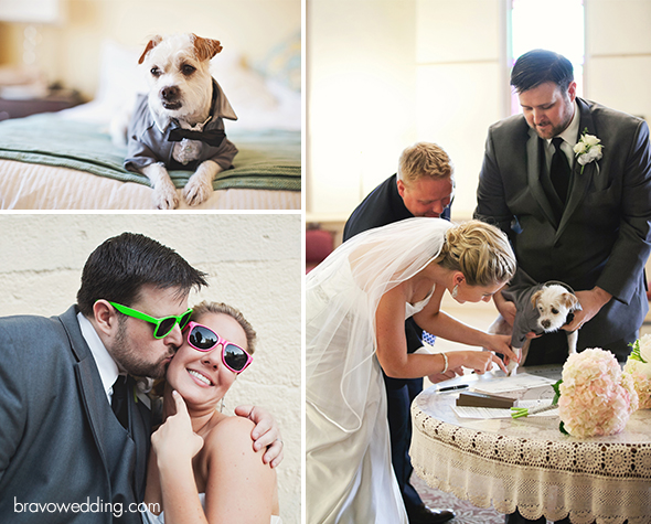 Dog as the Best Man