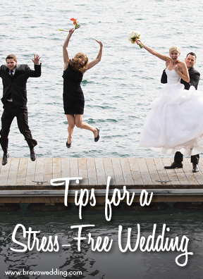 How to Plan a stress free wedding