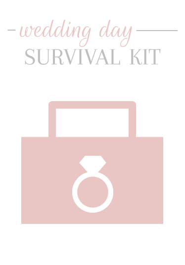Wedding Day Survival Kit