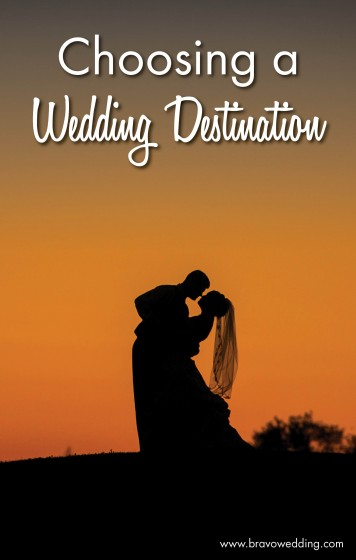 Choosing a Wedding Destination