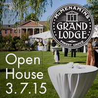 Grand Lodge Open House