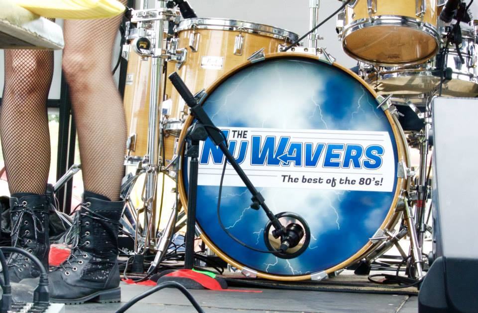 BRAVO! Nu Wavers Drum Head Willow's legs 7 22 15