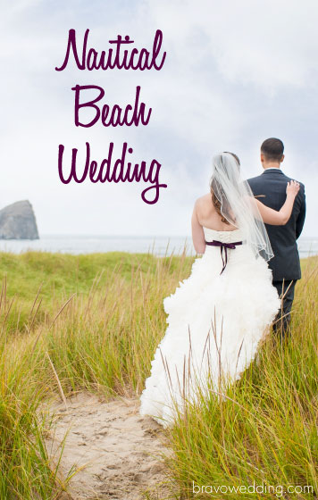 Nautical Beach Wedding Featured